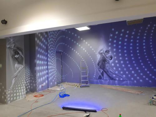 dance room, club night