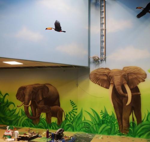slon, elephants