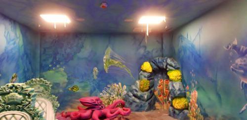 tlo do podwodnego pokoju